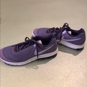 EUC Purple Nike Flex Experience shoes